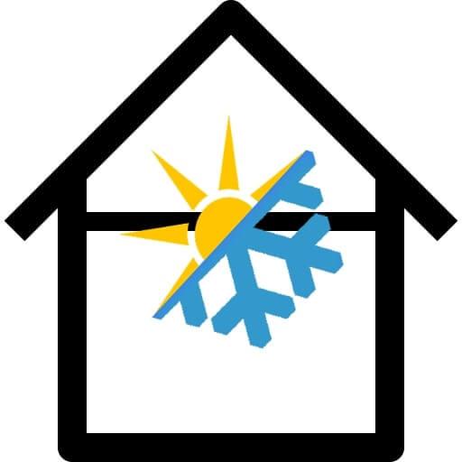 Logo pompe à chaleur
