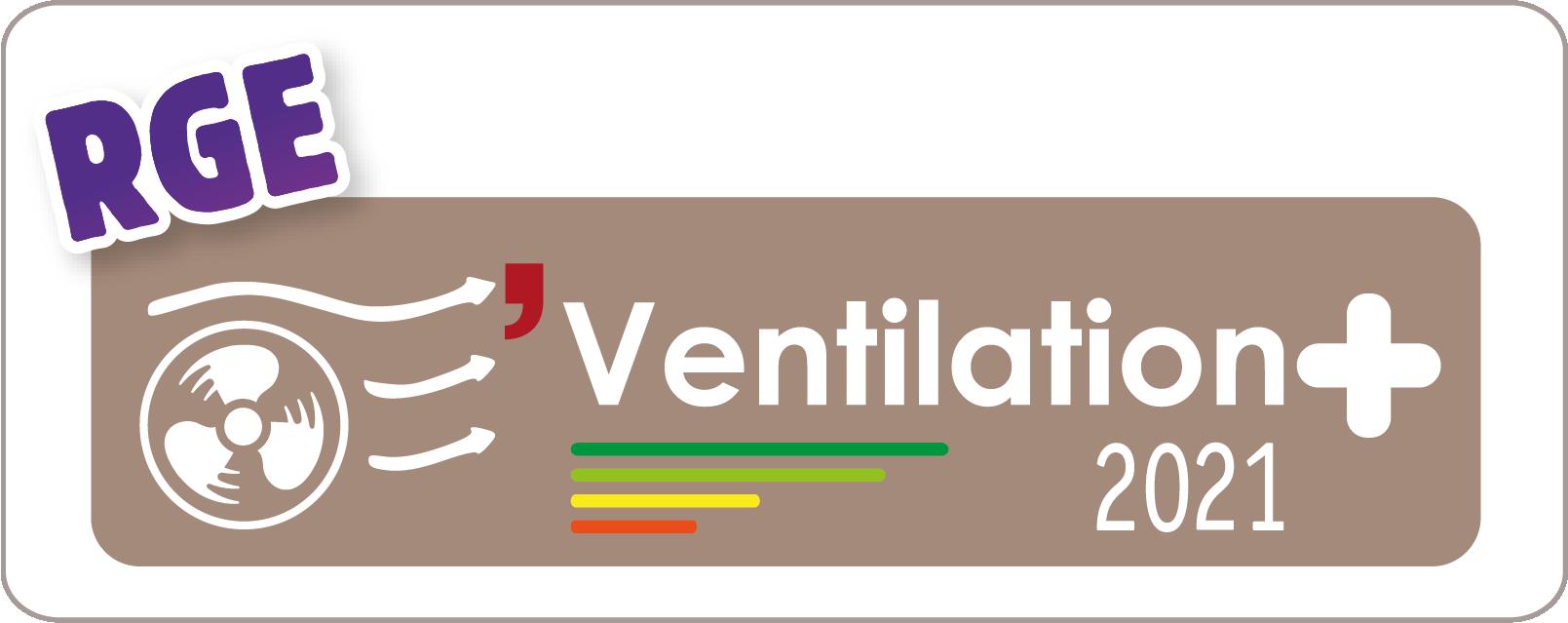 Logo ventilation+ RGE